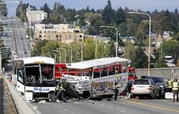 4 sinh viên Việt Nam bị thương trong vụ tai nạn xe bus tại Mỹ