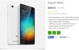 Xiaomi Mi 4c lộ giá bán trên Oppomart
