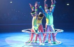 Xiếc Việt Nam giành huy chương bạc tại Liên hoan Xiếc quốc tế ở Italy