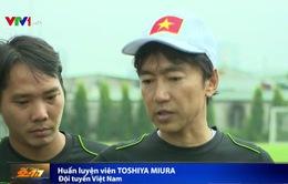Đội tuyển Việt Nam tăng cường tập luyện trước vòng loại World Cup 2018