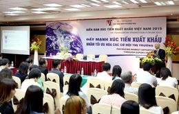 Diễn đàn xúc tiến xuất khẩu Việt Nam 2015 tại Hà Nội