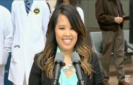 Y tá gốc Việt nhiễm Ebola khởi kiện Bệnh viện Texas, Mỹ