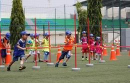 Sôi động Trại hè bóng đá Yamaha 2015