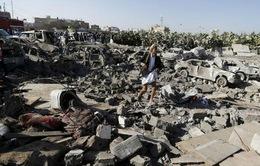 Liên quân Arab tiếp tục không kích Yemen