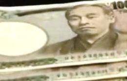 Đồng Yen thấp kỉ lục so với USD