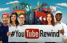 """YouTube ra mắt video tổng kết năm """"YouTube Rewind 2015"""""""