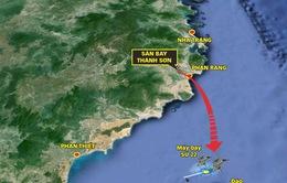 Tiếp tục tìm kiếm hai máy bay quân sự gặp nạn trên biển