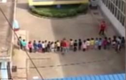Trung Quốc: Cô giáo mầm non bạo hành học sinh