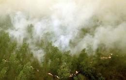 Indonesia điều tàu chiến sơ tán dân bị ảnh hưởng bởi khói mù
