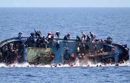 Hải quân Italy giải cứu hơn 500 người di cư trên Địa Trung Hải