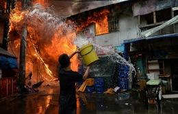 Philippines: Cháy lớn ở khu ổ chuột Manila, 1 người thiệt mạng