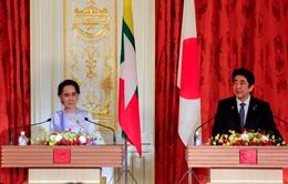 Nhật Bản cam kết viện trợ 7,7 tỷ USD cho Myanmar