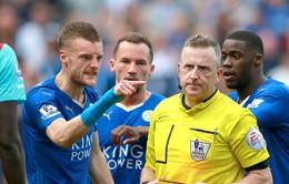 Jamie Vardy bị treo giò 2 trận, vắng mặt ở trận gặp Man Utd