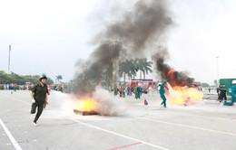 Hà Nội: 46 đội tham gia hội thao chữa cháy và cứu nạn, cứu hộ 2016