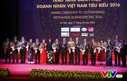 Vinh danh 100 doanh nhân Việt Nam tiêu biểu 2016