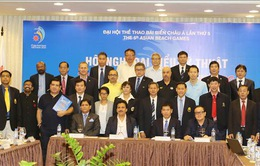 Hội nghị kỹ thuật ABG5 - 2016: Bốc thăm 5 môn thể thao đồng đội
