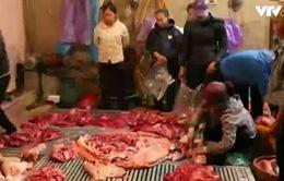Cơ sở kinh doanh thịt bò bẩn ngang nhiên hoạt động vì không sợ xử phạt