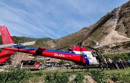 Rơi trực thăng ở Nepal, 7 người thiệt mạng