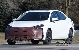 Rò rỉ hình ảnh Toyota Corolla 2017 trên đường thử