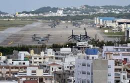 Nhật Bản ủng hộ tái bố trí căn cứ không quân Marine Corps
