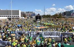 Gia tăng biểu tình phản đối Chính phủ tại Brazil
