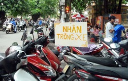 Hà Nội: Thu hồi giấy phép 7 điểm trông giữ xe
