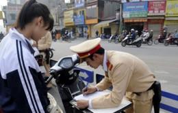 Học sinh vi phạm an toàn giao thông nhiều lần sẽ bị buộc thôi học