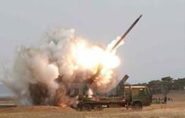 Nhật Bản phản đối vụ bắn tên lửa của Triều Tiên
