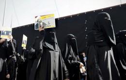 Biểu tình phản đối vụ Saudi Arabia hành quyết giáo sĩ