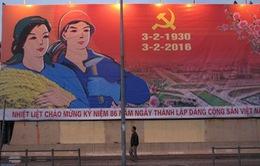Kỷ niệm 86 năm Ngày thành lập Đảng Cộng sản Việt Nam