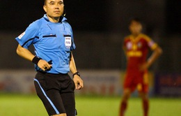 """V.League 2016: Gửi kiến nghị lên VFF, HAGL muốn """"cạch mặt"""" trọng tài FIFA Phùng Đình Dũng"""