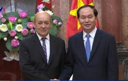 Chủ tịch nước tiếp Bộ trưởng Quốc phòng Pháp