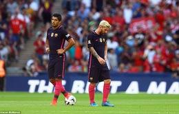"""Choáng: Barcelona """"thua vỡ mặt"""" trước Liverpool"""