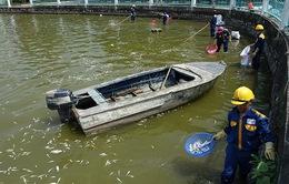 Nhiều cơ quan vào cuộc làm rõ nguyên nhân cá chết ở Hồ Tây