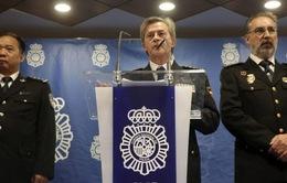 Tây Ban Nha bắt hơn 200 người Trung Quốc lừa đảo qua điện thoại