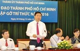 Lãnh đạo TP.HCM gặp gỡ và lắng nghe đề xuất, góp ý từ trí thức