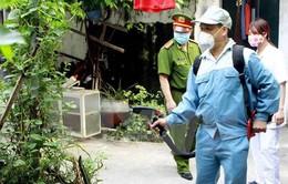 Ra quân xử lý môi trường sau ca nhiễm Zika đầu tiên tại Bà Rịa - Vũng Tàu