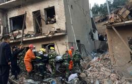 Nổ lớn tòa nhà ở Trung Quốc, hơn 100 người thương vong