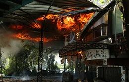 Cháy nhà hàng do hàn xì gas tại TT-Huế