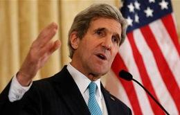 Ngoại trưởng Mỹ tới Nga thảo luận về tình hình Syria