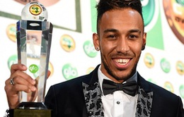 Đánh bại Yaya Toure, Aubameyang xuất sắc nhất châu Phi 2015