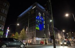 Thành Leicester trang hoàng chuẩn bị tiệc đăng quang Premier League 2015/16