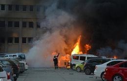Nổ bom xe ở Thổ Nhĩ Kỳ, hơn 20 người thương vong