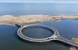 Uruguay xây dựng cầu hình tròn để thu hút du khách