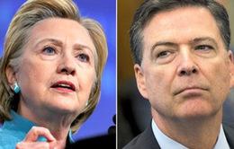 FBI bảo lưu kết luận về vụ bế bối thư điện tử của bà Clinton
