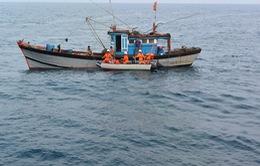 Một ngư dân mất tích trên vùng biển vịnh Đà Nẵng
