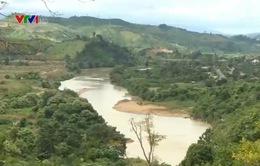 Nhiều hồ chứa nước tại Ninh Thuận khô hạn nặng