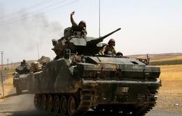 Xe tăng Thổ Nhĩ Kỳ tiếp tục tràn vào Syria diệt IS