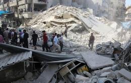 Không kích dữ dội ở Aleppo, 25 người thiệt mạng