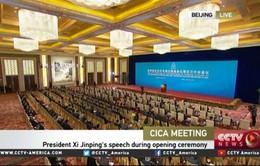 Hội nghị Phối hợp hành động và xây dựng lòng tin châu Á tại Trung Quốc